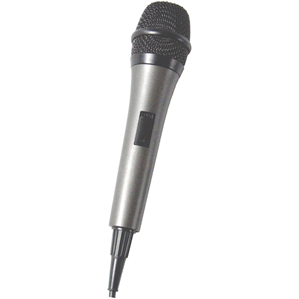 THE SINGING MACHINE SMM-205 Unidirectional Microphone