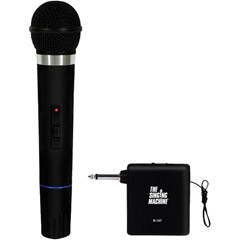 THE SINGING MACHINE SMM-107 Unidirectional Dynamic VHF Wireless Microphone with Microphone Receiver