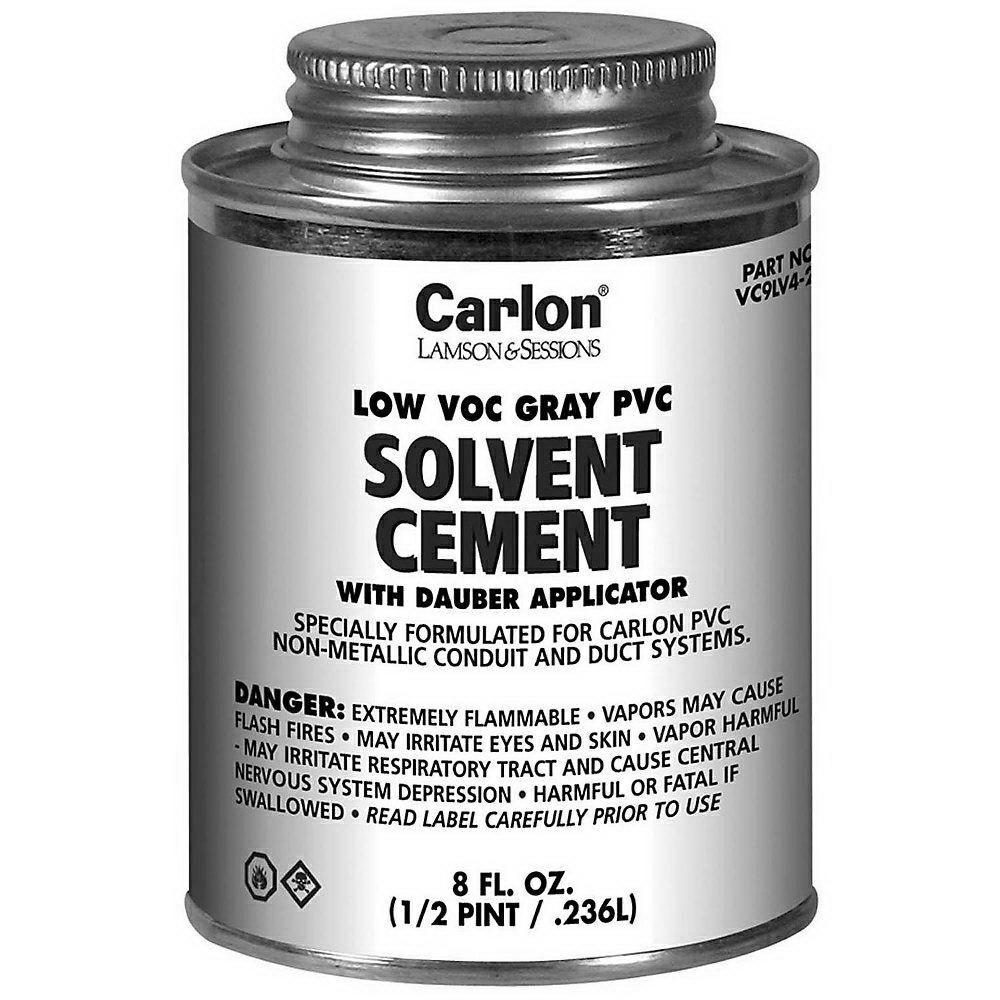 Thomas & Betts VC9LV4-24 PVC Sealers and Cement, 8 oz, Pint, Gray, Liquid