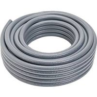 Carlon 15007-100 Liquid Tight Flexible Conduit, 3/4 in x 100 ft Coil, PVC