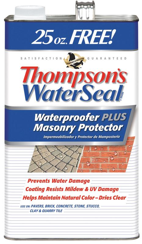 1.2-Gallon Thompson's® WaterSeal® Waterproofer Plus Masonry Protector