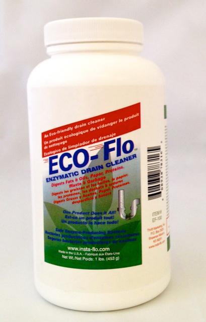 EF-100 ECO-FLO DRAIN CLEANER