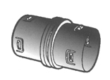 4IC-521 4 IN. INTERNAL COUPLER