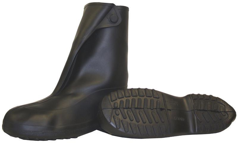 1400.LG 10 IN. BL RUBBER OVERSHOE