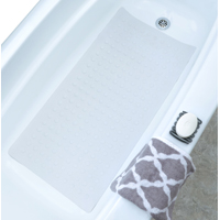 MAT BATH EXTRA LONG SAFETY WHT