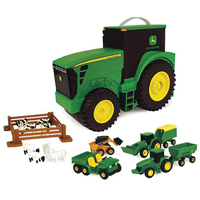 FARM SET TOY TRACTR CARRY CASE