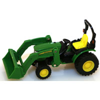 TOY TRACTOR W/LOADER