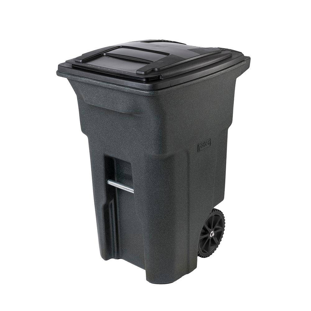 TRASH CAN 2WHEEL PLST HD 64G