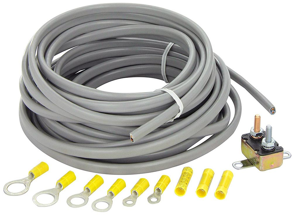 Tow Ready Wiring Kit for 2 to 4 Brake Control Sys Includes 25 ft 122 Duplex Wire 20 Amp Circuit Brkr