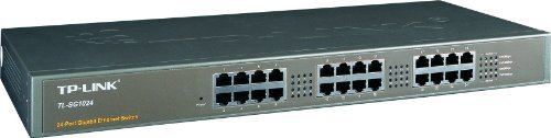 24 Port Gigabit Switch Metal
