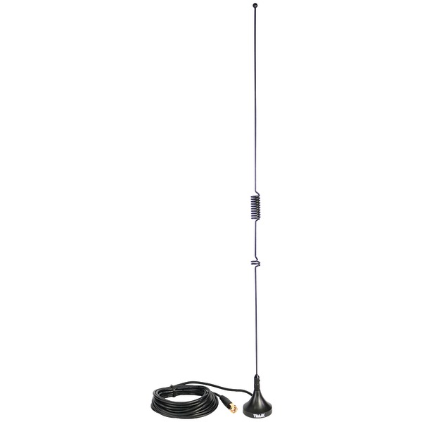 Tram 1089-SMA Scanner Mini-Magnet Antenna VHF/UHF/800MHz-1,300MHz with SMA-Male Connector
