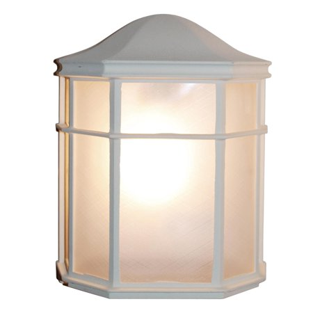 Trans Globe CB-4484-WH Lantern Outdoor Lighting, Medium, 100 W, 1 Lamp