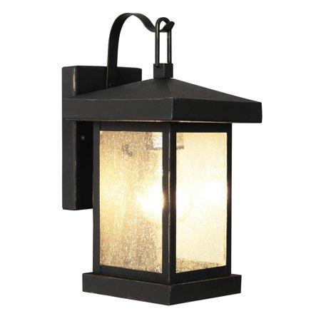 Trans Globe 45640 Traditional Lantern Outdoor Lighting, Downward, Medium, 100 W, 1 Lamp
