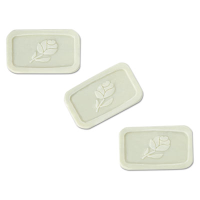 Unwrapped Amenity Bar Soap, Fresh Scent, #1 1/2, 500/Carton