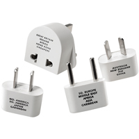 4PC ADAPTER PLUG SET