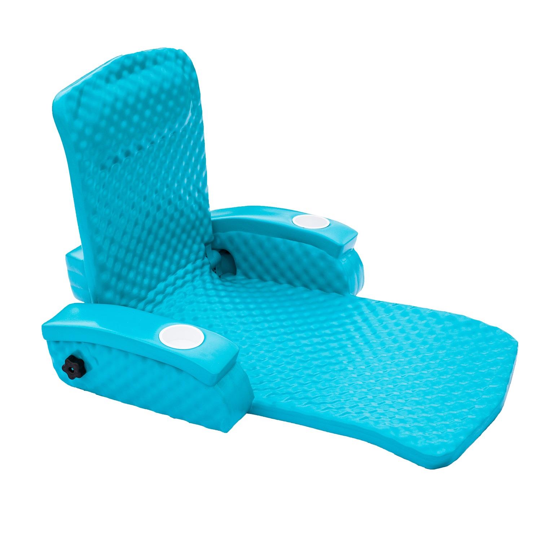 TRC Recreation Baja II Folding Lounge Aquamarine