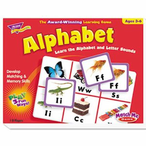 Alphabet Match Me Puzzle Game, Ages 4-7