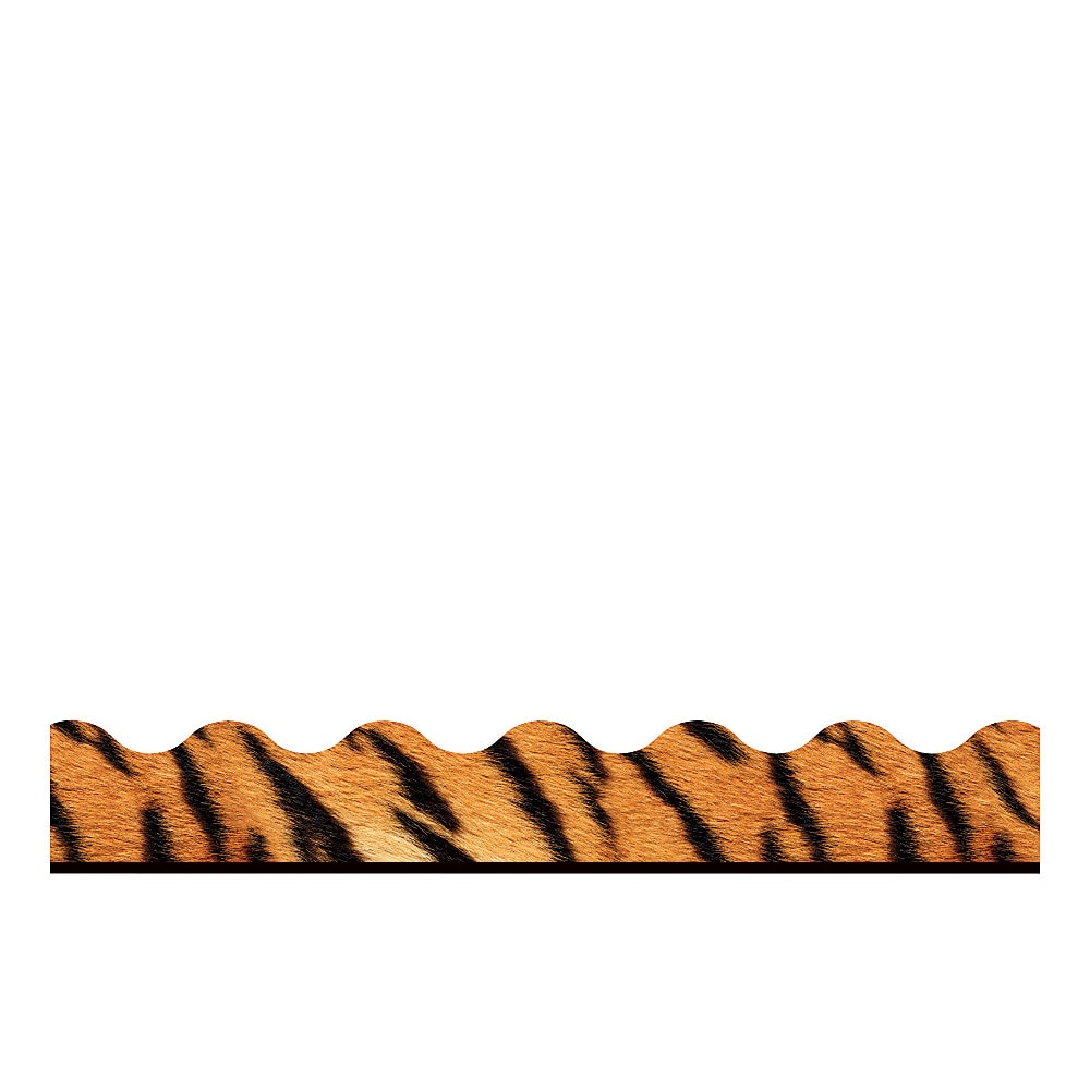 "Terrific Trimmers Print Board Trim, 2 1/4"" x 156 ft, Animal Prints, Assorted"