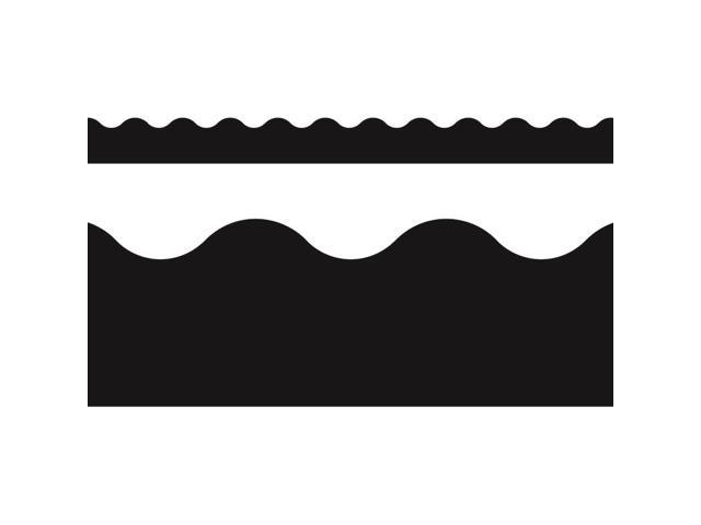 "Terrific Trimmers Solid Colors Board Trim, 2 1/4"" x 39 ft, Black"