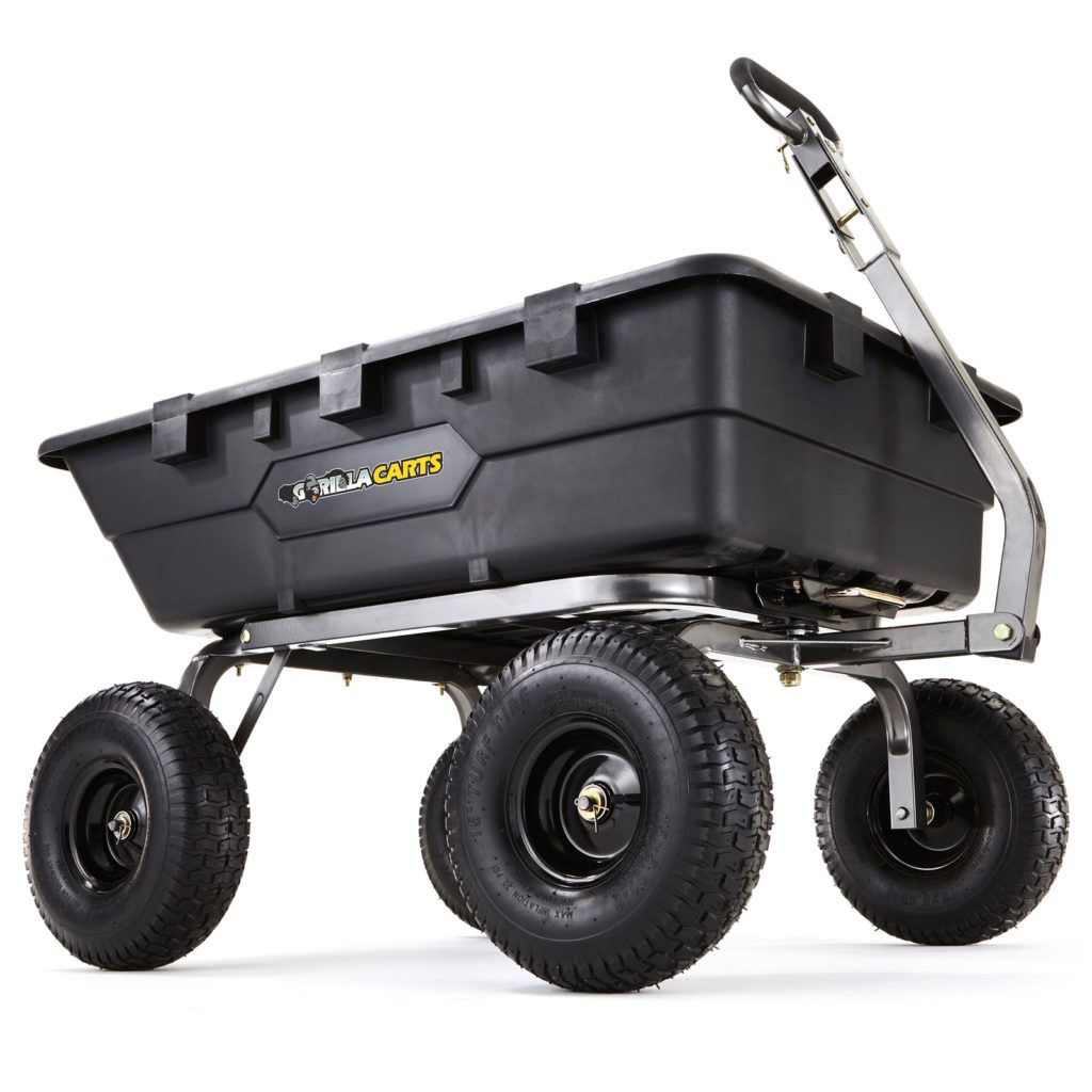 GOR10-16 1500LB POLY DUMP CART