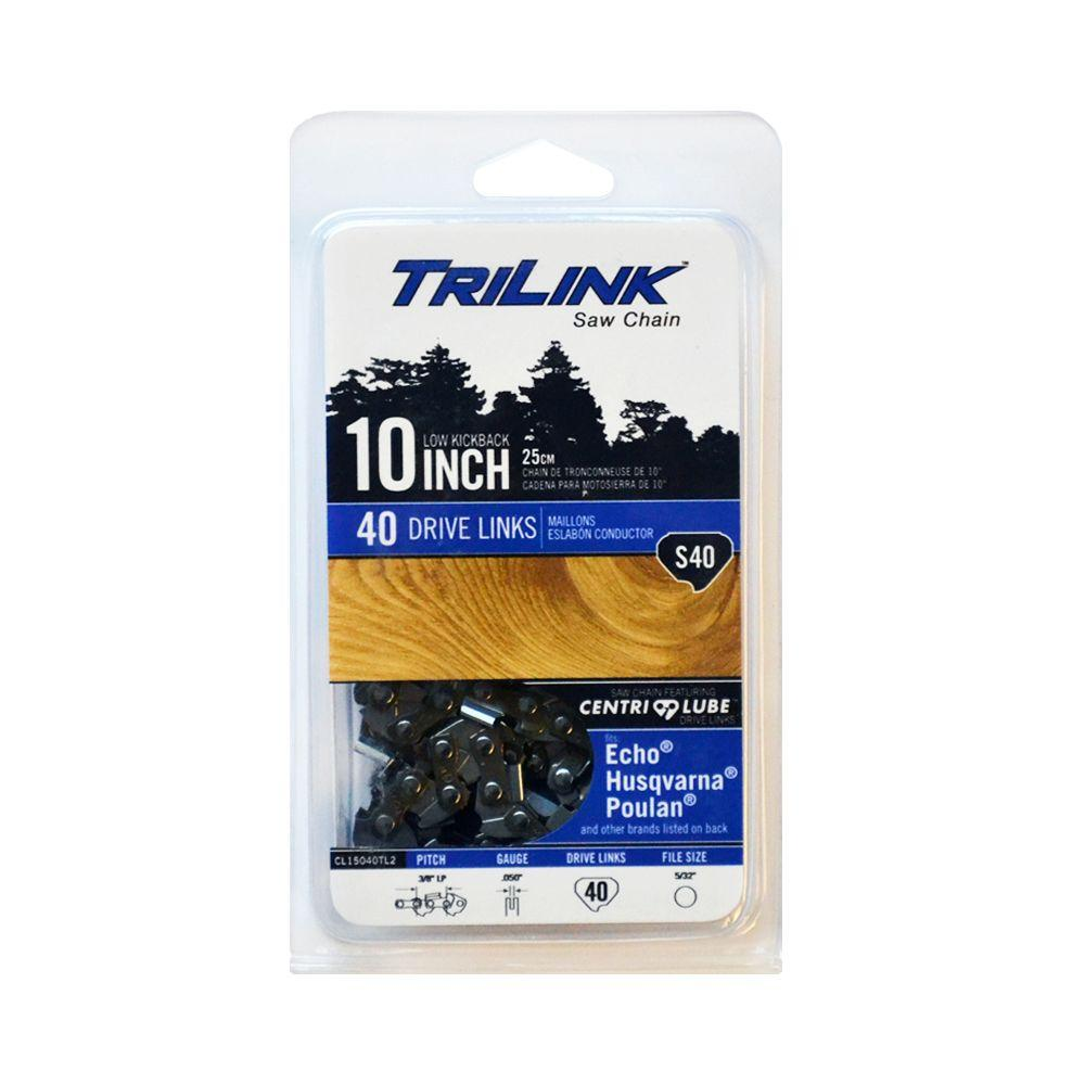 CL15040TL2 10 IN. 3/8 IN. S40 CHAIN