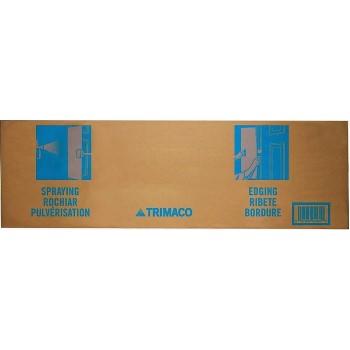 01031 10 In. X31 In. Cardboard Spray Shield
