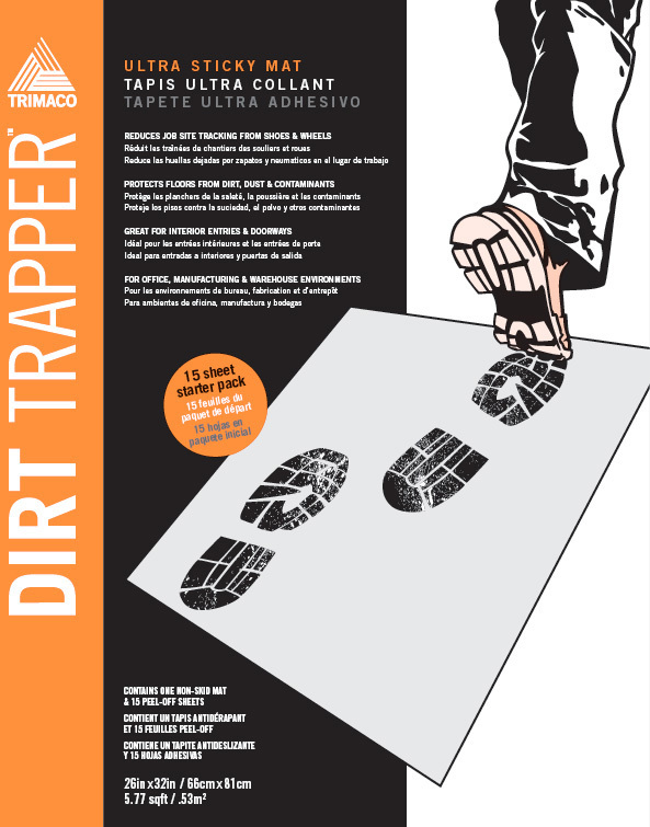 01261 DIRT TRAPPER STICKY MAT