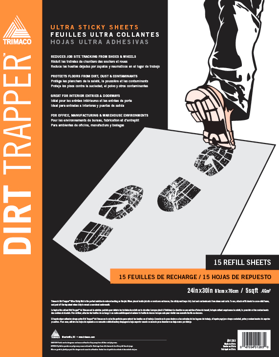 01265 30PK DIRT TRAPPER REFILL