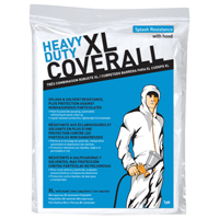 COVERALL W/HOOD XL