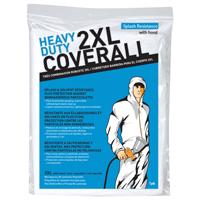COVERALL W/HOOD XXL