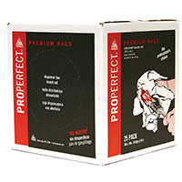 ProPerfect 80025 Painters Rags, 18 X 18 in, White, Cotton