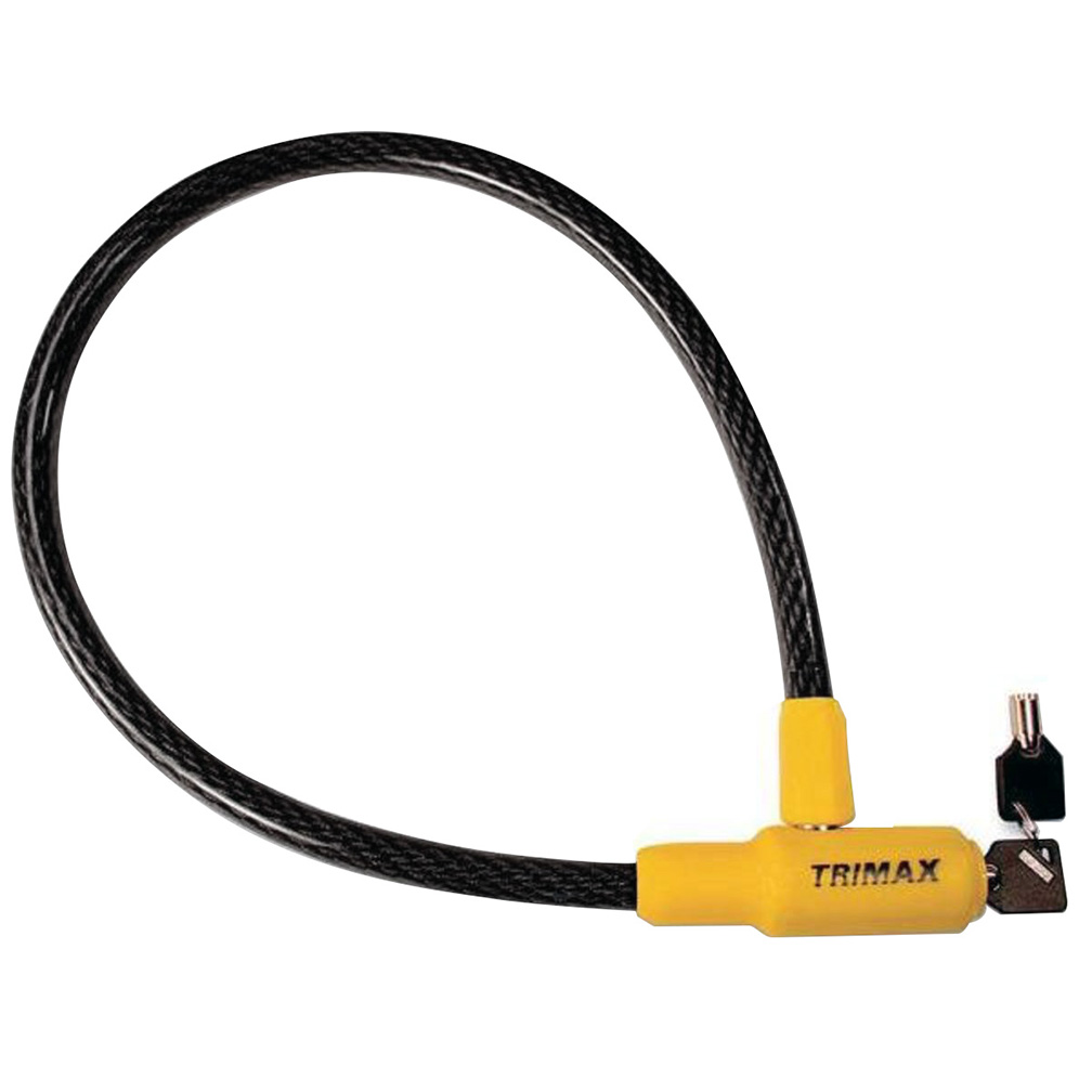 Trimaflex Integrated Keyed Cable Lock 32 L X 15Mm