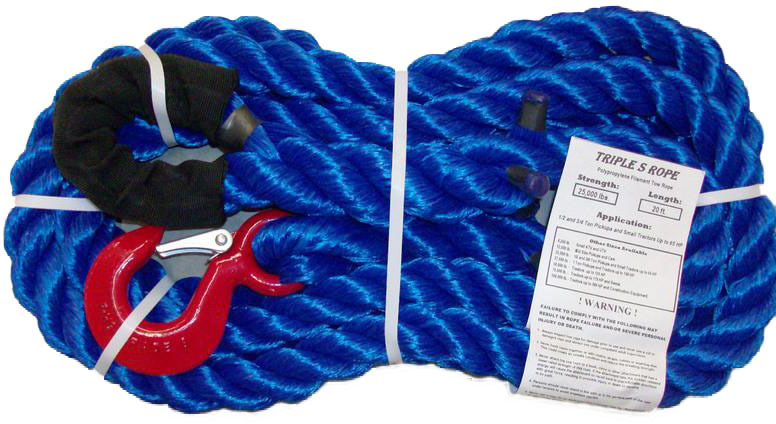 TS-25LH20 25,000 LB TOW ROPE