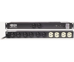 TRIPP LITE ISOBAR12ULTRA 12-Outlet Rack-Mount ISOBAR Premium Surge Protector with Locking Switch Cover