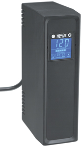 TRIPP LITE OMNI650LCD 650VA OmniSmart LCD Tower Line-Interactive UPS System with LCD Display & USB Port