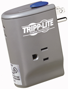TRIPP LITE PS5503M/TRAVELER Direct Plug-in 2-Outlet Portable Surge Protector