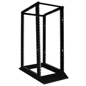 SmartRack 4-Post Open Frame Rack, 13U, 1000 lbs Capacity