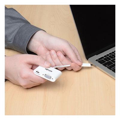 USB 3.1 Gen 1 USB-C to VGA Adapter, USB-C PD Charging Port