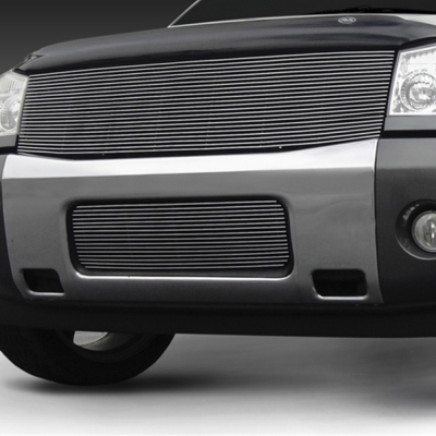 04-14 TITAN/04-07 ARMADA 1 PC POLISHED BILLET GRILLE INSERT (REPLACES GRILLE SHE