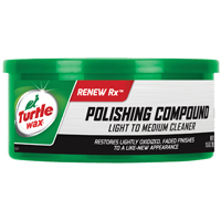Turtle Wax T-241A Polishing Compound, 10.5 oz Tub, White, Paste