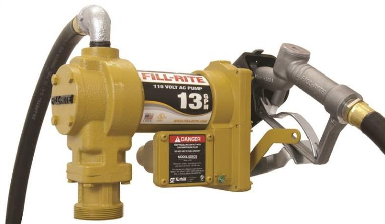 PUMP AC POLYMER SUCTION 115V