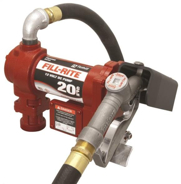 PUMP DC HI-FLOW FUEL 12V 20GPM