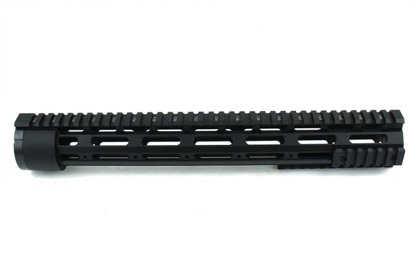"TacFire AR10 Free Float Quad Rail 15"" With Detachable Rails"