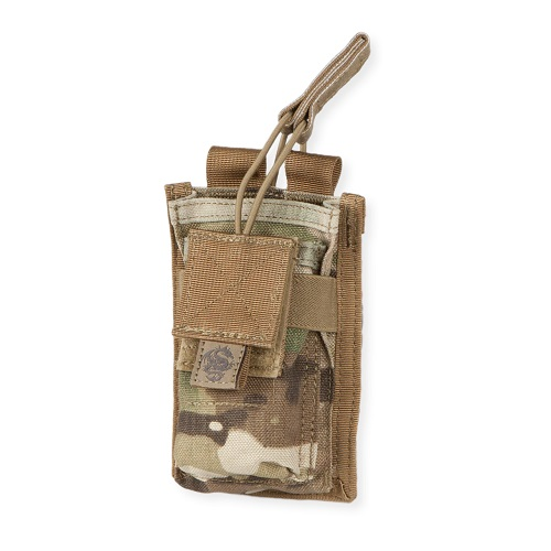 Single Rifle Mag Pouch w/ Pistol Mag Pocket Multicam