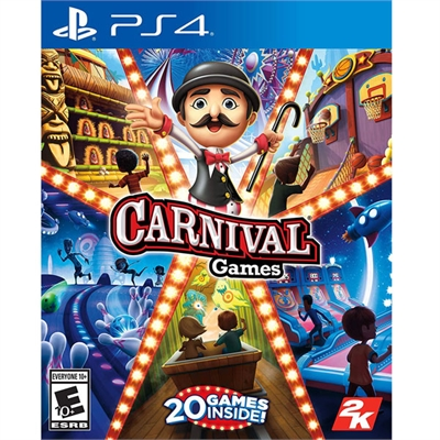 Carnival Party Games 2K PS4