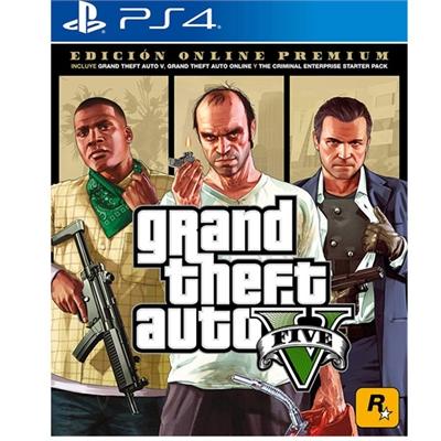 PS4 GTA V PremiumOnlineEdition