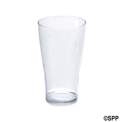 Drinkware, Acrylic, 20oz Conical Beverage Glass, Case Of 48