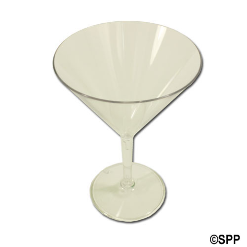 Drinkware, Acrylic, 10oz Martini Glass, Case Of 24