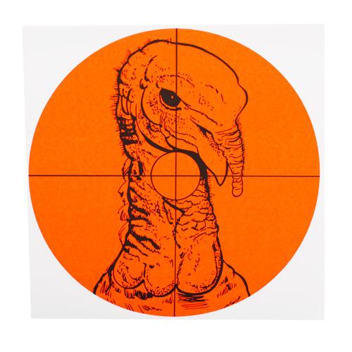 "6"" Turkey Target,10,Per Pack"