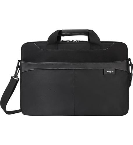 "15.6"" Business Casual Slim Briefcase- BK"